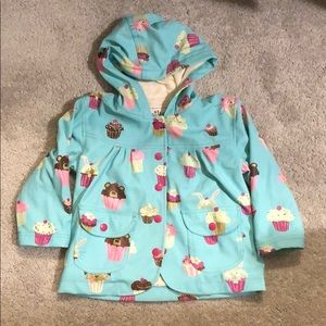 Hatley lined rain jacket. Size 1 (about 2T).